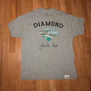 Diamond Supply Co Yacht Club Graphic T-shirt